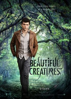 Beautiful Creatures | Based on book series by Kami Garcia and Margaret Stohl | Release Date: February 13, 2013  | Ethan Wate | #BeautifulCreatures #YA #paranormal