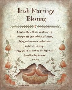 Irish Blessing Proverb prints by Donna Atkins - Choose from Marriage, Christening, Inspirational and Irish Wedding Toast, Wedding Toast Quotes, Wedding Toasts, Wedding Speech Quotes, Irish Prayer, Irish Blessing, Irish Wedding Traditions, Irish Proverbs, Irish Quotes