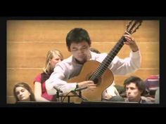 Handsome Guitarist plays Piazzolla.