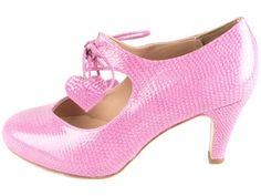 Cute shoes from Minna Parikka Marimekko, Carrie Bradshaw, Shoe Box, Cute Shoes, Peep Toe, Fashion Accessories, Pink Ribbons, High Heels, Dressing