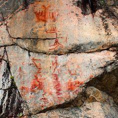 Astuvansalmi Ancient Discoveries, Finland Travel, Art Sites, Ancient Art, Prehistoric, Rock Art, The Rock, Painted Rocks, Travel Photography