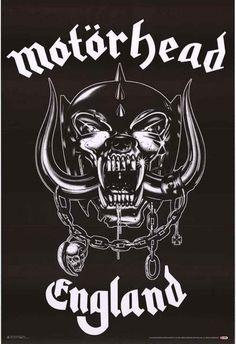 Motorhead England Album Cover Poster 24x36 – BananaRoad Más