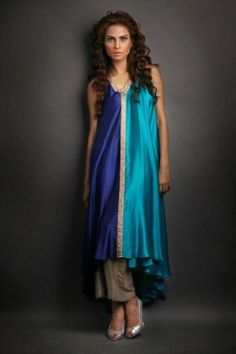 Sania Maskatiya | Buy Top + Platzo | LABELS e-Store Indian Dresses, Indian Wear, Asian Fashion, Day Dresses, Color Combinations, Designer Dresses, Summer Outfits, Dress Up, Clothes For Women