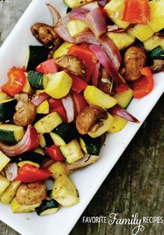Make the perfect roasted vegetable medley with this simple summer recipe!