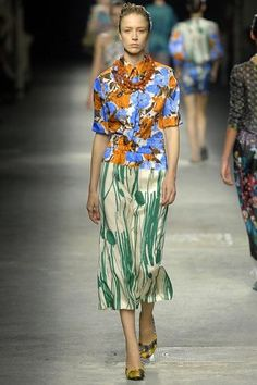 Dries van Noten 2008