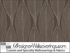 Grenada Wallpaper Print - Large Scale Leaves  [TAB-79074] Hampton's Beach Collection-7/11 | DesignerWallcoverings.com | Luxury Wallpaper | @DW_LosAngeles | #Custom #Wallpaper #Wallcovering #Interiors