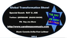 """#WorldNews   #PRESS   #Hollywood   The Global #TransformationSHOW PRESENTS: *STAR* Guest Of The Week: The Most Entertaining Global  #RADIOShow Duo, The One & Only """"RAY & JOE""""  Get The Most Entertaining & Spontaneous INTERVIEW:  http://connieimage.synthasite.com/global-transformation-show.php   Connie Avila-Von Leitner Show #Producer & #Host The Global #TransformationSHOW Twitter:  @Connie Avila-Von Leitner"""