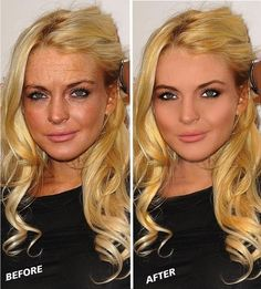 No one is perfect. 23 Celebrities Before & After Photoshop