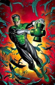 Kyle Rayner Art by Brian Bolland