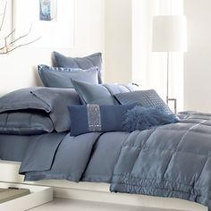 dreaming blue dreaming blue waterford alana collection waterford alana collection van donna karan bedding pure dkny innocence stripe