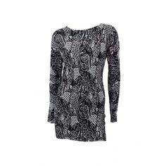 Caroline Morgan Long Sleeve Tunic