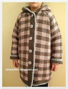 Günaydın,   Bu mantoyu kış başlangıcında kızıma örmüştüm, çok severek giyiyor. İskoç örgüsü de deniyor bu örneğe.             Benim çok se...