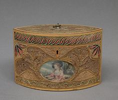 English Tea Caddy, c. early 19th century
