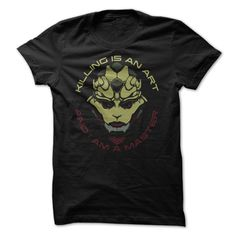 Thane Krios - Killing is an art and I am a master. Game shirt 19$. Check this shirt now: http://www.sunfrogshirts.com/Thane-Krios.html?53507