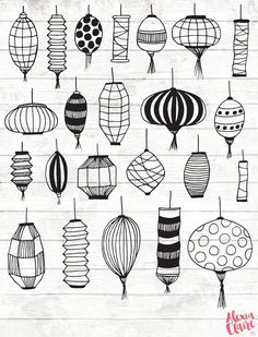 OFF Paper Lantern Clipart Chinese lantern clipart Journal Themes, Bullet Journal Ideas Pages, Bullet Journal Inspiration, Clipart, Moroccan Lanterns, Chinese Lanterns, Doodle Drawings, Doodle Art, Lantern Drawing