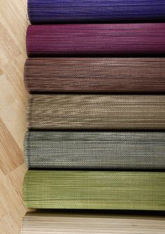 Bamboo Table Runners 72 x13 Indigo Purple $9.99 each / 6 for $9 each    Love these and they come in nifty colors. Might work for my DIY headboard idea.