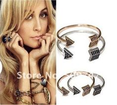 House of Harlow 1960 Pave Arrow Cuff Bracelet MOQ 10USD Mixed orders free shipping $2.99