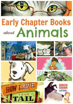 Early chapter books for kids about animals