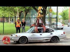 Funny car pranks.