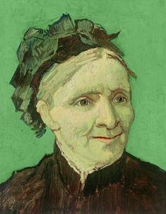 Vincent van Gogh- portrait of his mother