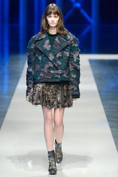 Fall Fashion 2013 Riot Girl Christopher Kane