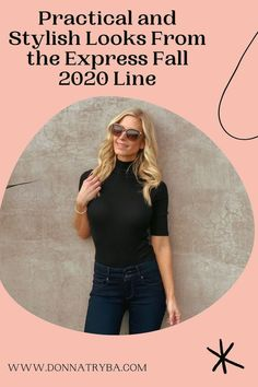 Check out the latest styles from the Express Fall 2020 line. These styles are not only chic and super practical, but are all items that can be layered to last you all the way into winter. Being over 40, I have picked items that compliment me and my personal style - which I believe are super tasteful for maturing women. Don't wait - these exact items won't be at Express forever. Snag yours before they sell out! Winter Date Night Outfits, Holiday Outfits, Texas Fashion, Style Fashion, Southern Girls, Black Turtleneck, Fashion Over 40, Latest Styles, Girls Night Out