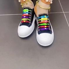 Lace Up Shoes, Slip On Shoes, Moda Fashion, Womens Fashion, Elastic Shoe Laces, Cool Style, My Style, Intense Workout, How To Tie Shoes