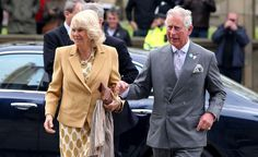 Prince Charles and Camilla, Duchess of Cornwall, arrived at the World Museum in Liverpool to start off their one-day visit to the city.