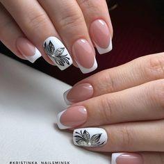 Creative Nail Designs, Beautiful Nail Designs, Creative Nails, Glue On Nails, Gel Nails, Manicure, Flower Nail Designs, Gel Nail Designs, Nails Design