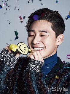 Park Seo Joon - InStyle Magazine December Issue... - Korean Magazine Lovers