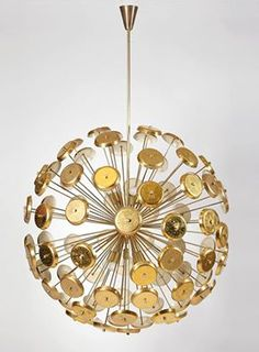 Beautiful example of sputnik chandelier. See more clicking on the image.