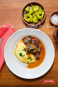 What do you want as the weather gets cooler and the days get busier? Something warm, something cozy, something classic…with a twist. This slow cooker pot roast is exactly what you want. Our Italian Plum Tomato Delicate Marinara provides rich flavor and a luscious sauce to ladle over polenta, potatoes or pasta.
