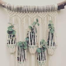 Resultado de imagen para boho macrame plant hanger weaving tutorial
