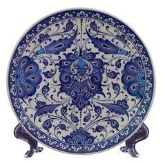 Handmade Iznik Ceramic Plate