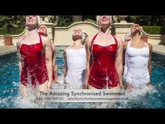 Watch our incredible synchronised as they perform at a range of different events across the world. Swimmers, Night Club, Range, The Incredibles, Ocean, Entertainment, Events, Watch, Book