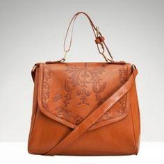 Stradivarius brown hand bag