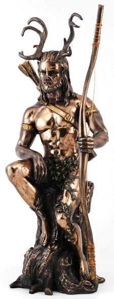 This is one of my favorites on Wiccan Supplies, Witchcraft Supplies & Pagan Supplies Experts-Eclectic Artisans: Herne Statue