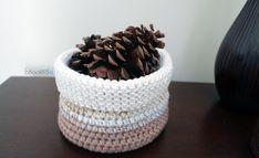 Cotton Crochet Basket