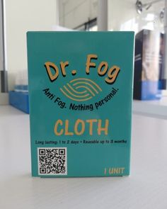 """Introducing """"DR FOG"""" - Tired of walking around feeling like your head's in the clouds? This revolutionary new product designed by bio-tech scientists in the USA is a game-changer! Available @opticalemporio in two variations (cloth and wetwipes)."""