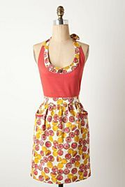 Pink Citrus Apron from Anthropologie