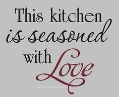 Kitchen Quote
