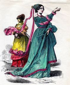German citizens, Fashion 16th century
