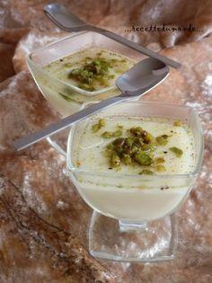 Gateau libanais creme de lait
