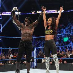 R-Truth and Carmella!