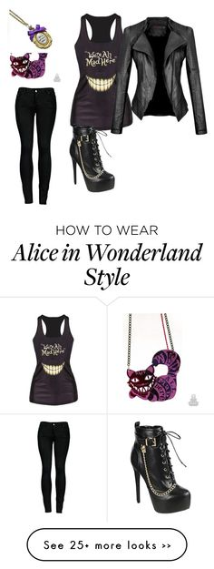 """were all mad here"" by imjustasking on Polyvore"