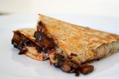 Barbecue Portobello Quesadillas By Tracy