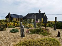 Derek Jarman's garden in England