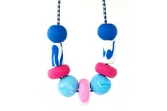 Polymer Clay Necklace, Polymer Clay Beads, Beaded Necklace, Necklaces, Color Patterns, Sunlight, Colorful, Shapes, Create