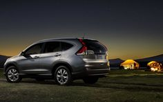 The best part of camping is when the sun goes down. #Honda #2012CRV #LeapList