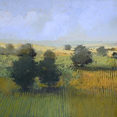 Paul Balmer : Summer Landscape oil on canvas Landscape Artwork, Abstract Landscape Painting, Art Et Nature, Art Folder, Summer Landscape, Art Moderne, Arte Floral, Pastel Art, Painting Inspiration
